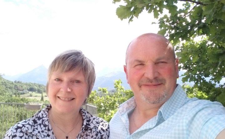 Carine et Philippe, propriétaires d'un gîte dans les Hautes-Pyrénées