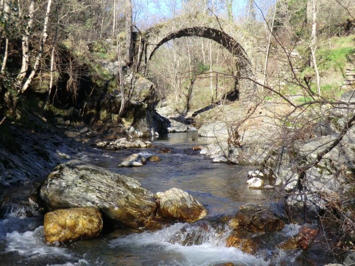 Le pont de Transgardon et la fameuse rivière !