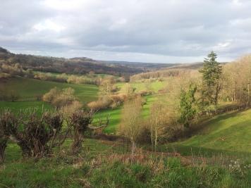 Les paysages autour de Sainte-Opportune