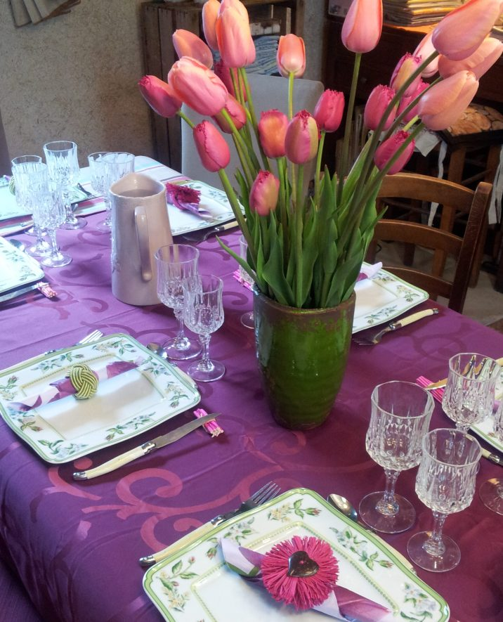 La table d'hôtes, moment de rencontre et de convivialité à La Bergerie