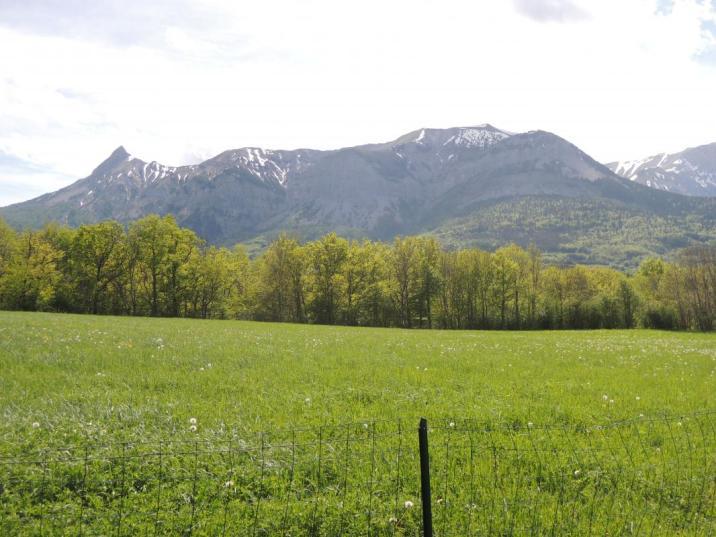 Les hébergements de Valérie sont proches du Parc National des Ecrins
